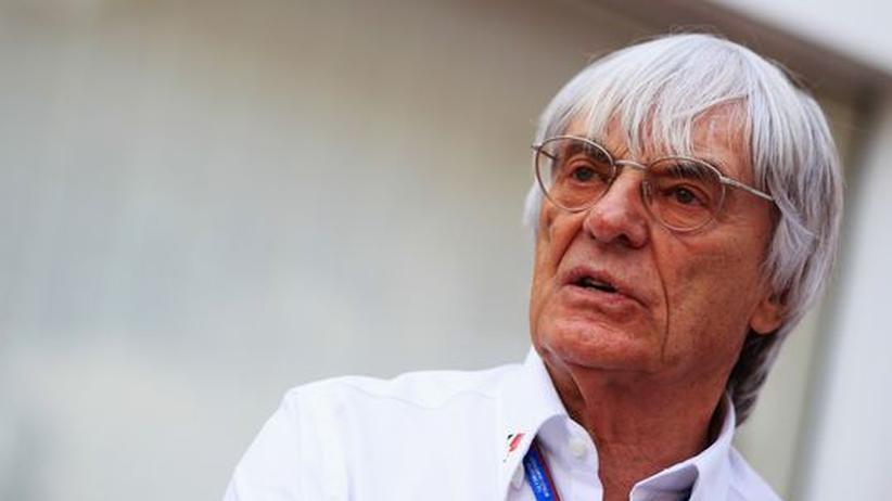 Eine Art sozialer Diktator: Formel-1-Boss Bernie Ecclestone