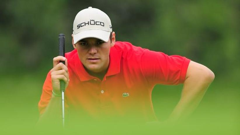 Der Golfprofi Martin Kaymer beim KLM Cup in den Niederlanden