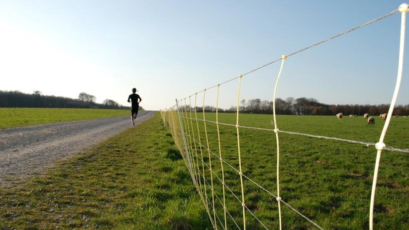 """Marathonlauf: """"Gar nichts tut weh"""""""