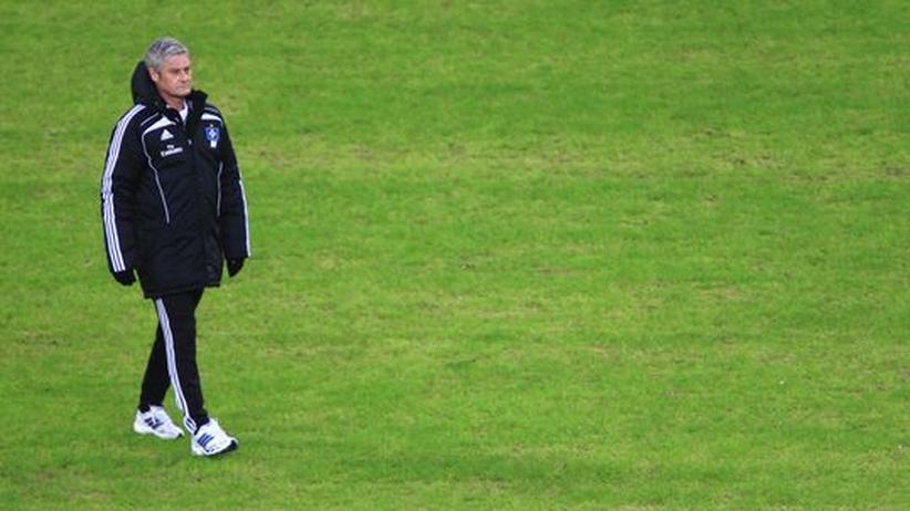 Bundesliga: Trainer Veh verlässt den HSV