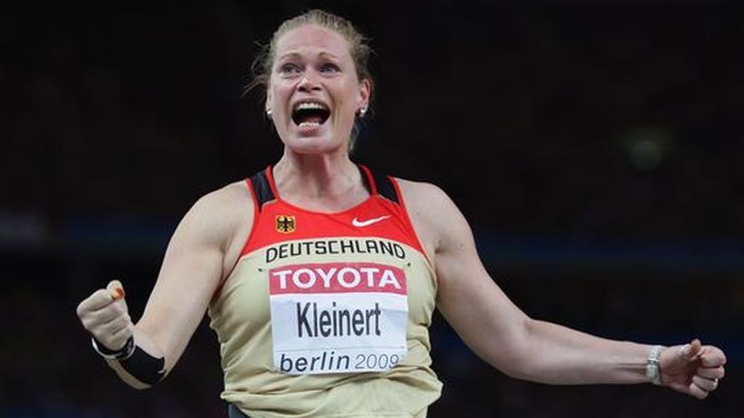 """Nadine Kleinert: """"Ich sage lieber nicht, was ich über Fußballer denke"""""""