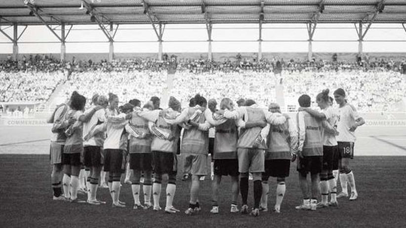 Frauenfußball-WM 2011: Die deutsche Frauen-Nationalelf vor dem Anpfiff