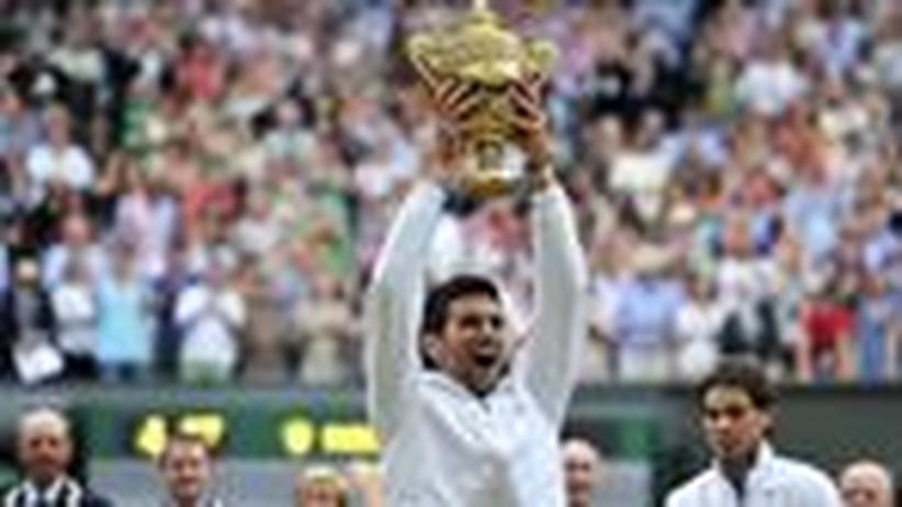 """Novak Djokovic: """"Ich wollte wissen, wie der Rasen schmeckt"""""""