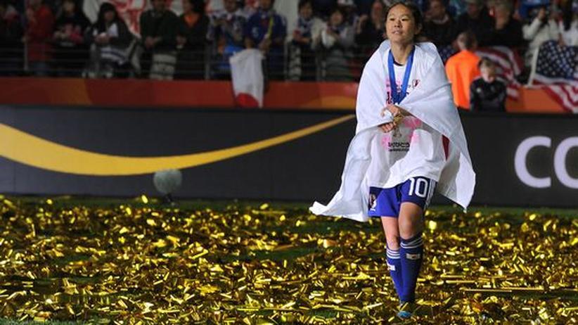 Japans Fußballerinnen: Geisha? Girlie? Nein: Weltmeisterin!