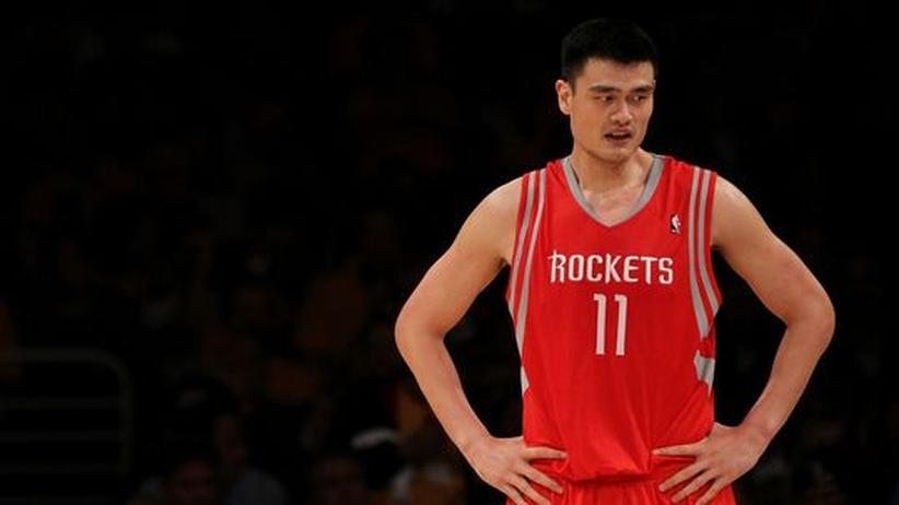 Basketball: Der Riese Yao Ming ist zerbrochen