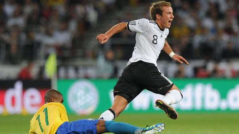 Deutschland gegen Brasilien: Mario Götze glänzte wie einst Beckenbauer