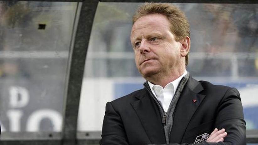 Fußballtrainer Rolf Fringer