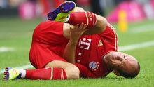 Wieder verletzt: Bayern Münchens Arjen Robben