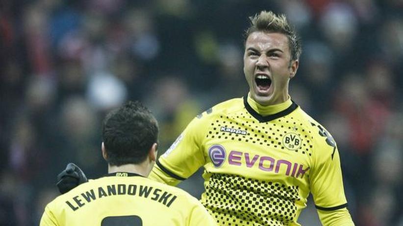 Bundesliga-Rückschau: Mario Götze, das Tipp-Kick-Männchen