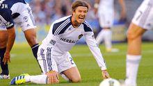 David Beckham bleibt bei Galaxy in Los Angeles.