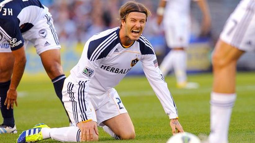 Fußball: Beckham-Wechsel nach Paris geplatzt