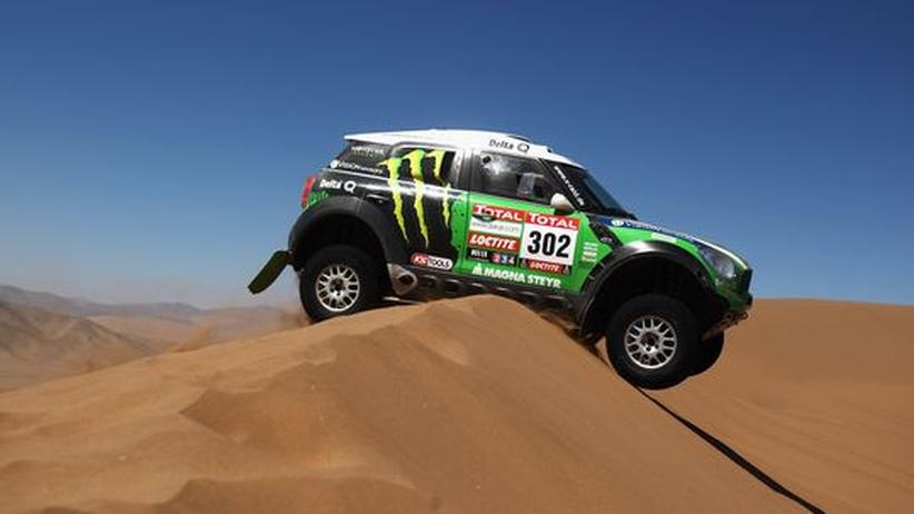 Jutta Kleinschmidt: Millionärssöhnchen fällt es leichter, bei der Rallye Dakar zu starten