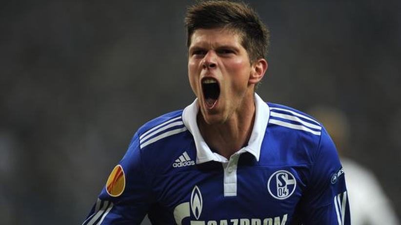 Europa League: Dreifachtorschütze Huntelaar bringt Schalke ins Achtelfinale