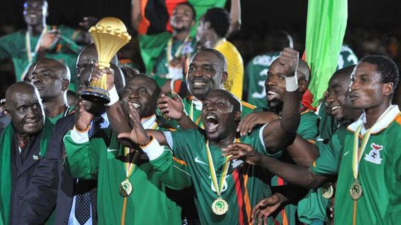 Fußball: Sambia gewinnt erstmals Afrika-Cup