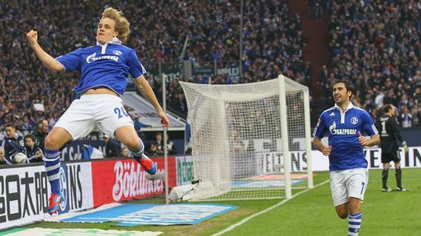 Bundesliga, 25. Spieltag: Schalke bleibt dran
