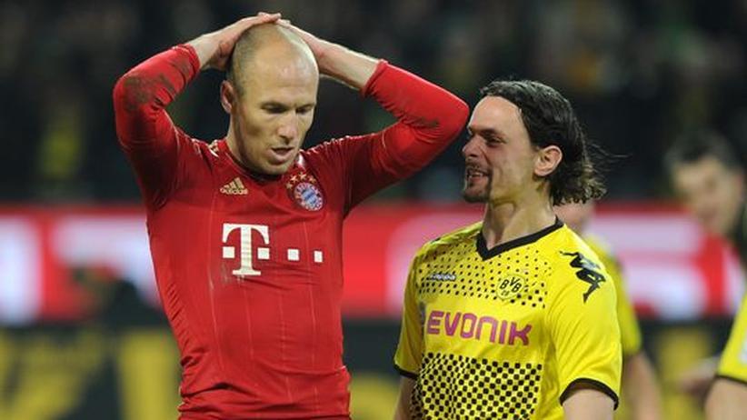 Bundesliga: Dortmund besiegt Bayern, Debakel für Hamburg