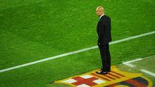 Barcelonas Trainer Josep Guardiola