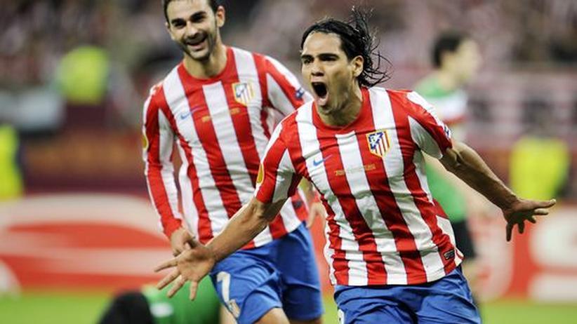 Europa League: Falcao schießt Atletico zum Titel