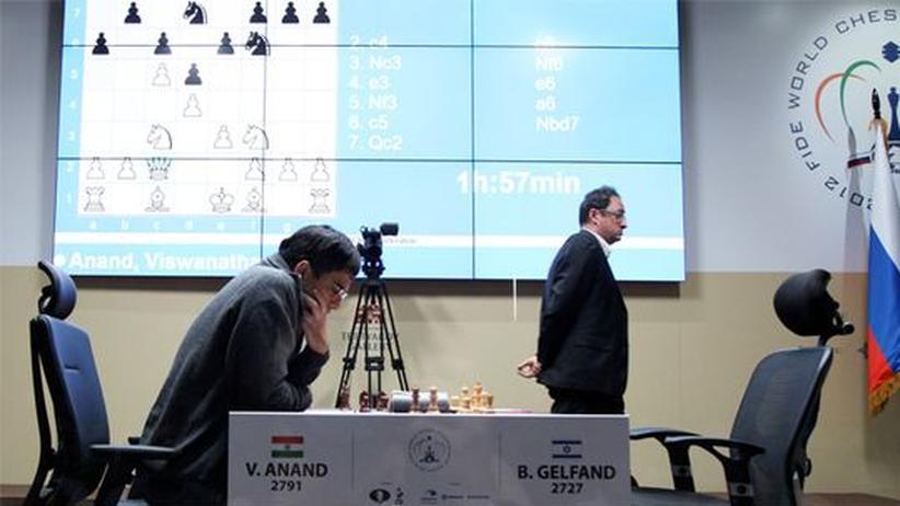 Schach-WM: Anand gleicht aus