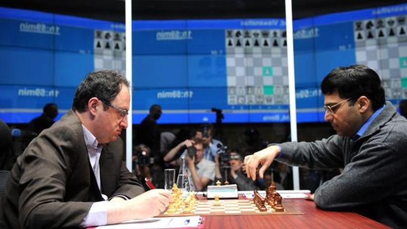 Schach-WM: Anand, Gelfand und Elefant