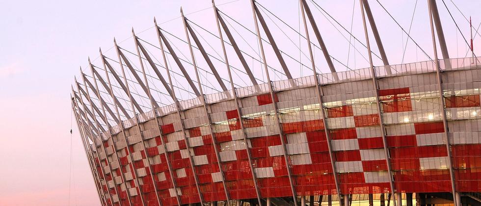 Das Warschauer EM-Stadion im November 2011