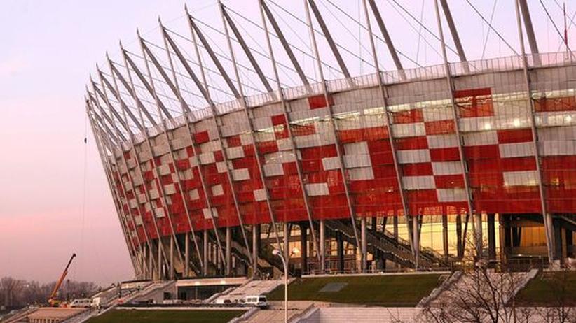 EM-Stadt Warschau: Kein elektrisches Licht, aber ein EM-Stadion