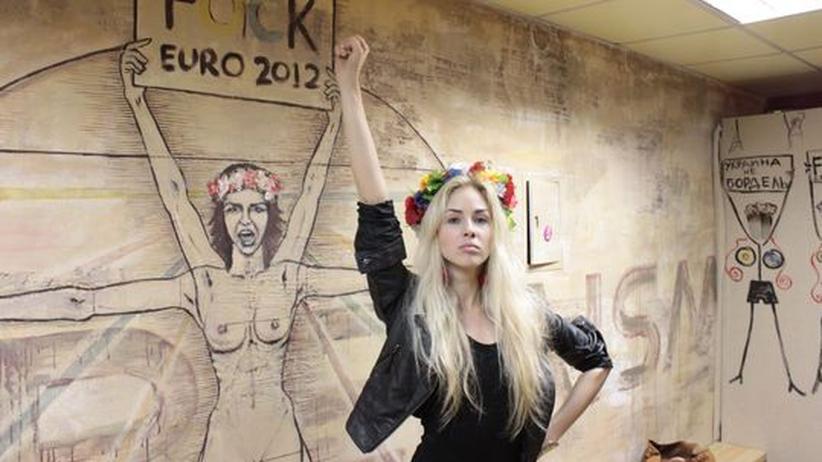 """Femen-Anführerin: """"Am Ende steht das Matriarchat"""""""