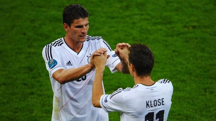 Fußball-EM: Als die Stürmer das Spiel verließen
