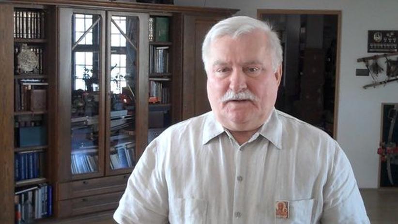 """Lech Wałęsa: """"Das Fußballstadion war unser Ort der Freiheit"""""""