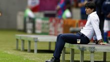 Joachim Löw vor dem Spiel gegen Italien