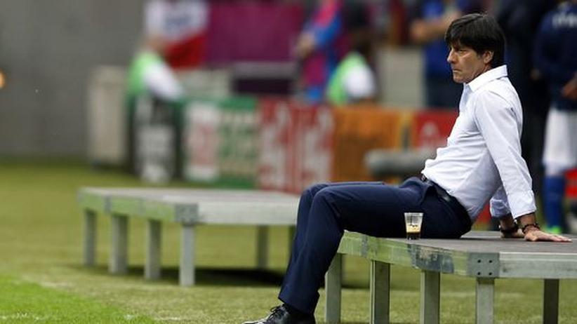 Deutschland - Italien: Joachim Löw vor dem Spiel gegen Italien