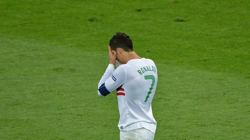 Dänemark – Portugal: Ronaldo, so wird das nichts!