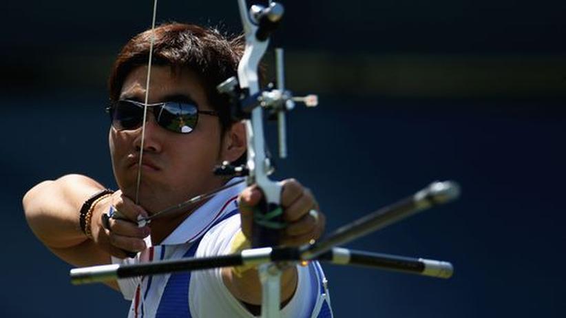 Bogenschütze Dong Hyun Im: Blind zum Weltrekord