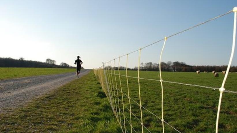Jogging-App: Von A nach B