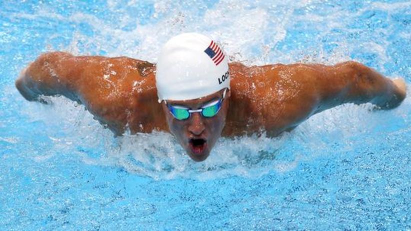 Olympia 2012: Lochte gewinnt das erste Schwimm-Duell gegen Phelps