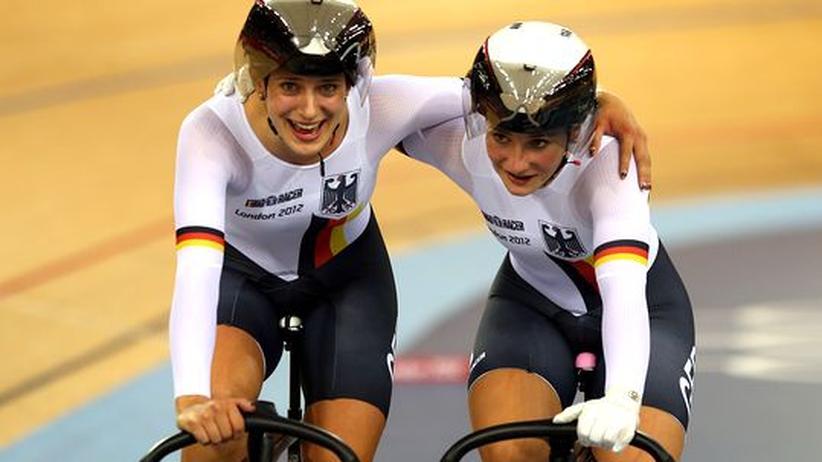 Olympia: Deutsche Rad-Sprinterinnen holen Gold
