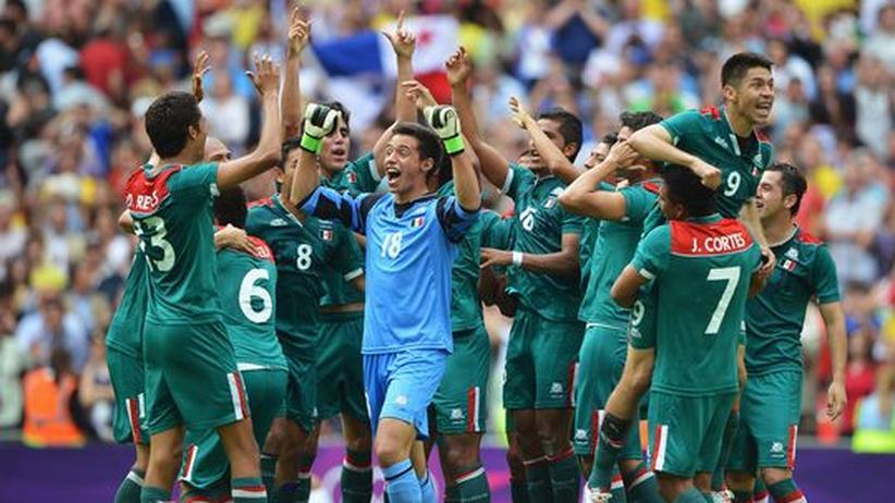 London 2012: Mexikos Fußballer gewinnen olympisches Gold
