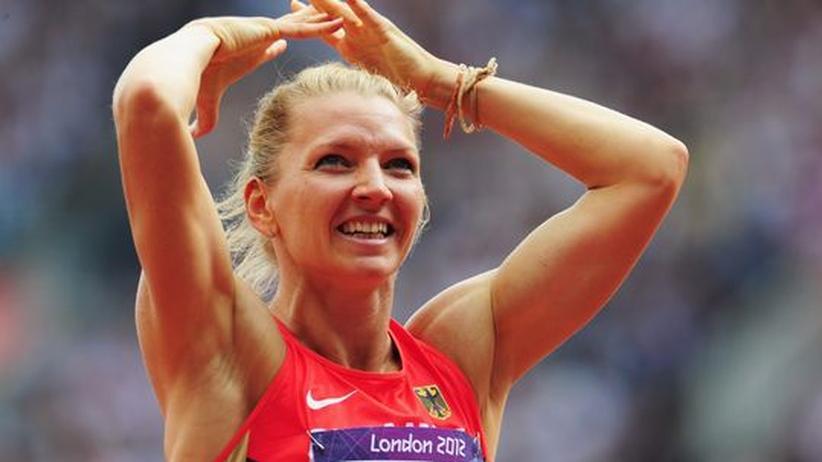 London 2012: Schwarzkopf holt Silber im Siebenkampf