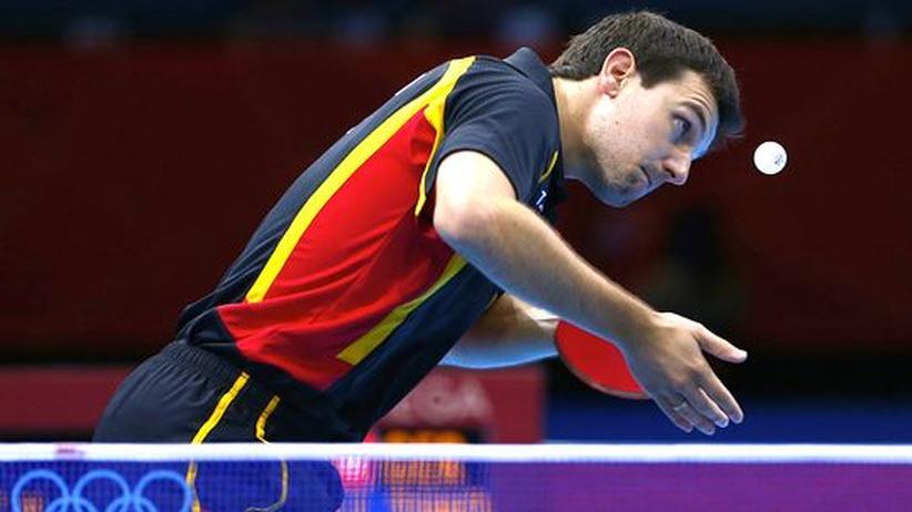 Olympische Spiele 2012: Deutsche Tischtennis-Herren gewinnen Bronze