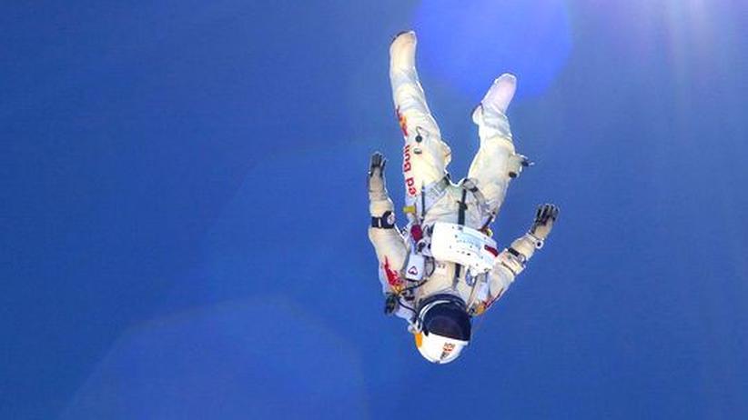 Extremsport: Der Mann, der vom Himmel fällt