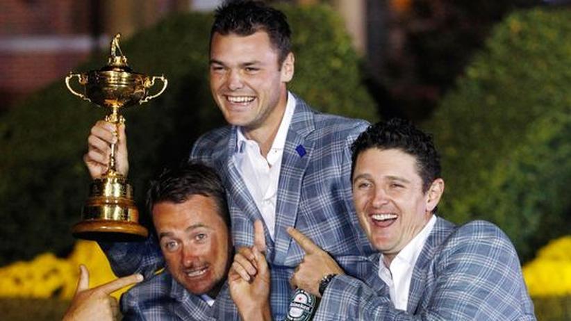 Golfturnier: Kaymer sichert Europa Sieg im Ryder-Cup