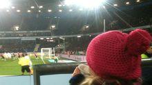 Spannung im Kinderblock von Hannover 96