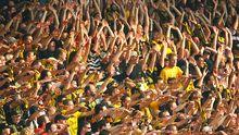 Fans von Alemannia Aachen