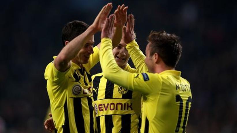 Champions League: Dortmund kennt eine Abkürzung zum Tor
