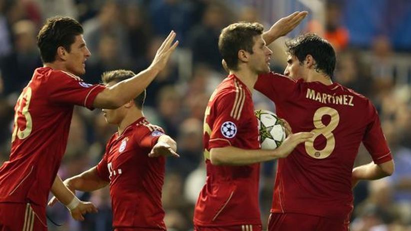 Champions League: Schwache Bayern ziehen ins Achtelfinale ein