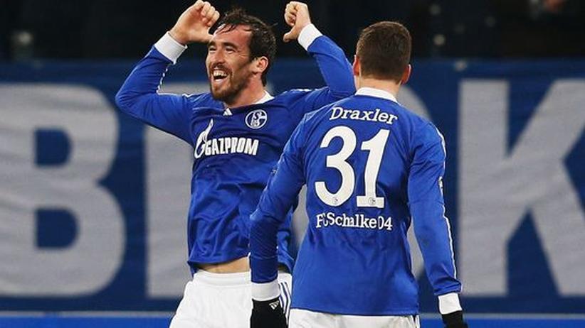 Schalke - Piräus: Fuchs schießt Schalke ins Achtelfinale