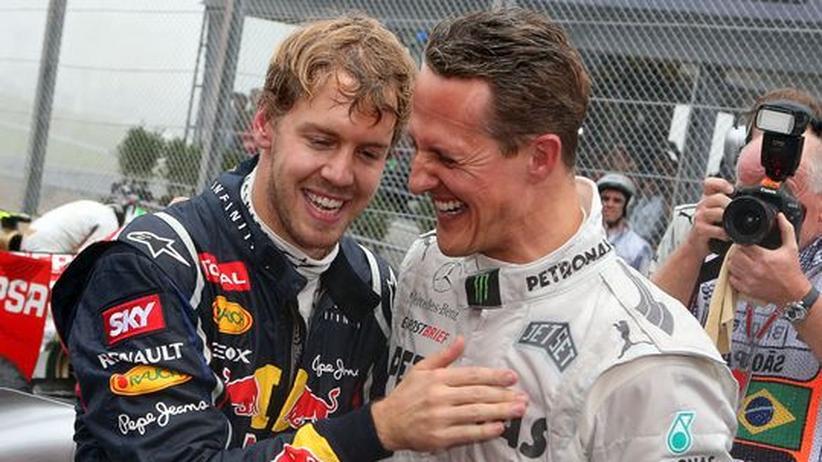 Formel 1: Vettel ist nicht so rüpelhaft wie Schumacher