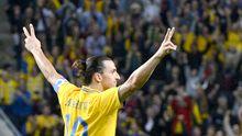 Vierfacher Torschütze Zlatan Ibrahimovic