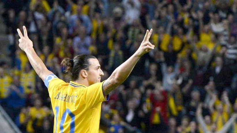 Schweden – England: Der Geniestreich des Zlatan Ibrahimović