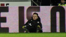 Swanseas angeschlagener Ballboy Charlie Morgan